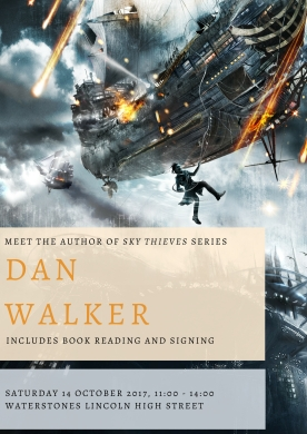 Dan Walker Book Signing Poster