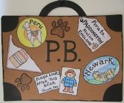 Newark Book Festival Paddington Suitcase